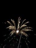 Demostración VIII de los fuegos artificiales Foto de archivo libre de regalías