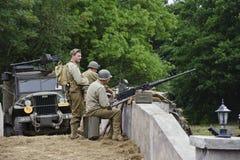 Demostración 2011 de la guerra y de la paz Imagen de archivo