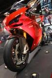 Demostración de la motocicleta Imagenes de archivo