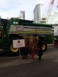 Demostración de Lord Mayor El representante 2014 del granjero Londres Imágenes de archivo libres de regalías