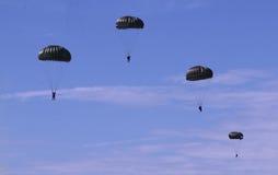 Demostraciones aerotransportadas de las fuerzas aéreas malasias reales Fotografía de archivo