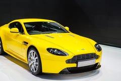 Demostraciones de coche de Aston Martin Fotos de archivo