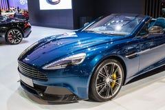 Demostraciones de coche de Aston Martin Imagenes de archivo