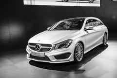 Demostraciones de coche de Mercedes-Benz Imagen de archivo