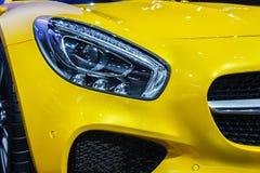 Demostraciones de coche de Mercedes-Benz Fotografía de archivo libre de regalías