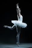 Demostraciones del bailarín y de la etapa de ballet fotografía de archivo libre de regalías