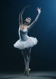 Demostraciones del bailarín y de la etapa de ballet imagen de archivo