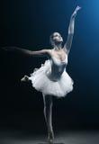 Demostraciones del bailarín y de la etapa de ballet imagen de archivo libre de regalías