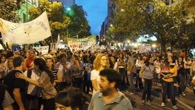 Demostraciones en el día de la conmemoración para la verdad y la justicia