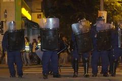 Demostraciones políticas en Hungría 2006 imagenes de archivo