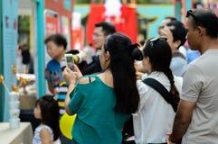 Demostraciones que moldean el azúcar de China Foto de archivo libre de regalías