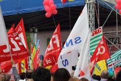 Demostration de syndicat Photographie stock
