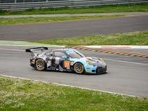 Dempsey-Proton Porsche que compite con 911 RSR en Monza Fotografía de archivo libre de regalías