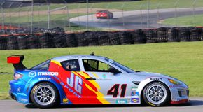 Dempsey's Mazda RX-8 GT Royalty Free Stock Photo