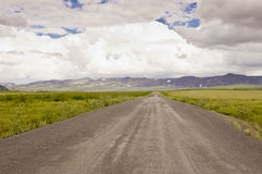 Dempster Highway in the arctic Stock Photos