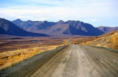 Dempster Highway, Northwest Territories, Canada stock images