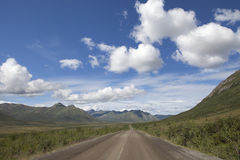 Dempster Highway in Summer Stock Images
