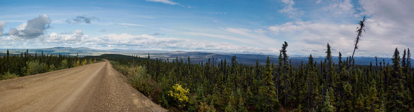 Dempster Highway Royalty Free Stock Image