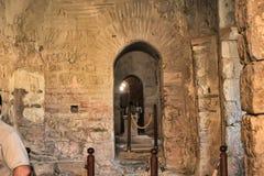 DEMRE, TURQUÍA - 13,07,2014 frescos en San Nicolás (Papá Noel Fotografía de archivo libre de regalías