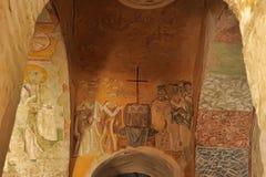DEMRE, TURQUÍA - 13,07,2014 frescos en San Nicolás (Papá Noel Foto de archivo libre de regalías