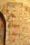 DEMRE, TURQUÍA - 13,07,2014 frescos en San Nicolás (Papá Noel Fotos de archivo libres de regalías
