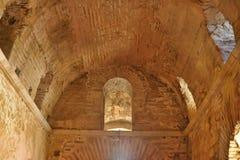DEMRE, TURQUÍA - 13,07,2014 frescos en San Nicolás (Papá Noel Foto de archivo