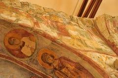 DEMRE, TURQUÍA - 13,07,2014 frescos en San Nicolás (Papá Noel Imagen de archivo libre de regalías