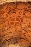 DEMRE, TURQUÍA - 13,07,2014 frescos en San Nicolás (Papá Noel Imagen de archivo