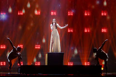 Demy από την Ελλάδα Eurovision 2017 στοκ φωτογραφίες