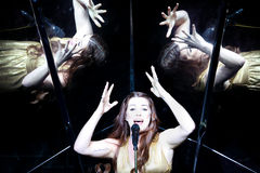Demy de Grèce au concours de chanson d'Eurovision Photographie stock