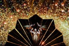 Demy de Grèce au concours de chanson d'Eurovision Photos stock