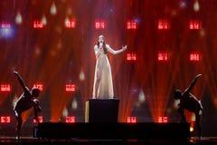 Demy från Grekland Eurovision 2017 arkivfoton