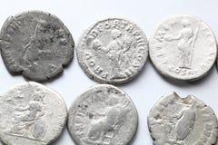 Denário romano Fotografia de Stock