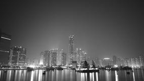 Glåmiga Tsuen, Hong Kong Fotografering för Bildbyråer