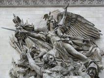 den ärke- fransmannen skulpterar triump Arkivbilder