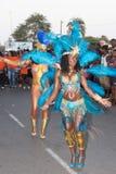 Den årliga karnevalet i huvudstaden i Kap Verde, Praia. Fotografering för Bildbyråer