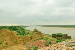 Den ökända Chambal dalen som är bekant som paradis av dacoits tidigare arkivfoto