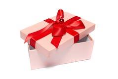 Den öppna gåvan boxas Royaltyfri Bild