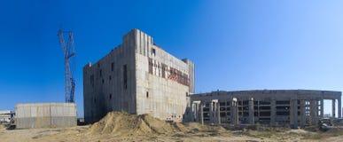 Den övergav atomnay stationen Arkivbilder