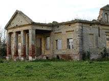 Den övergav slotten Fotografering för Bildbyråer