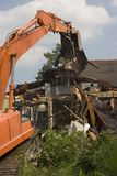 den 17th kanalen skadade den home near New Orleans för floden gatan Royaltyfria Foton