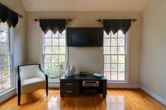 Den. Living Room interior in a home Stock Photo
