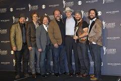 den 46th akademiettårig växt tilldelar countrymusik USA arkivbilder