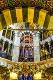 Den Aachen domkyrkan, också hög Aachen domkyrka, Tyskland Royaltyfria Bilder