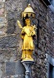 Den Aachen domkyrkan, också hög Aachen domkyrka, Tyskland Fotografering för Bildbyråer