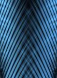 Den abstrakt bandblålinjen buktar royaltyfri illustrationer