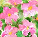 Den abstrakt begrepp texturerade akryl och vattenfärgen räcker målad bakgrund Arkivfoto