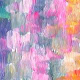 Den abstrakt begrepp texturerade akryl och vattenfärgen räcker målad bakgrund Royaltyfria Foton