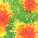 Den abstrakt begrepp texturerade akryl och vattenfärgen räcker målad bakgrund Arkivbild
