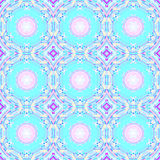 Den abstrakt begreppcirklar och diamanten mönstrar rosa violetta lilor för turkos fotografering för bildbyråer